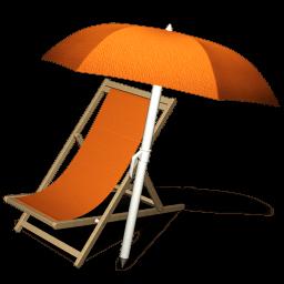 Orange 04 Sticker
