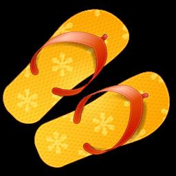 Flip Flops Sticker