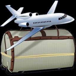 Falcon Travel Bags Sticker