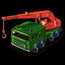 8 Wheel Crane Sticker