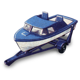 Boat And Trailer Sticker