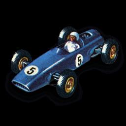 Brm Racing Car Sticker