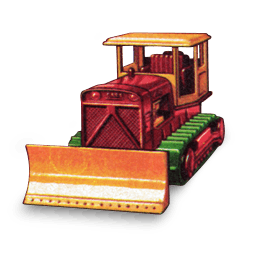Case Bulldozer Sticker