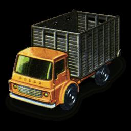 Cattle Truck Sticker