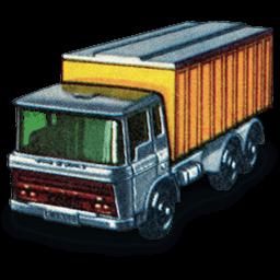 Daf Tipper Container Truck Sticker