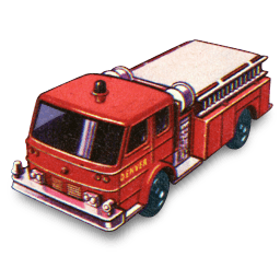 Fire Pumper Sticker