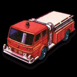 Fire Pumper Sticker