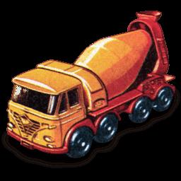 Foden Concrete Truck Sticker