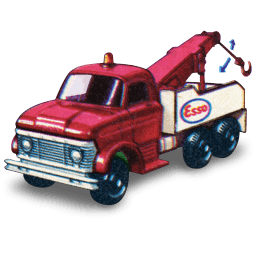 Ford Heavey Wreck Truck With Movement Sticker