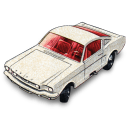 Ford Mustang Fastback Sticker