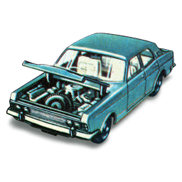 Ford Zodiac Mkiv Sticker