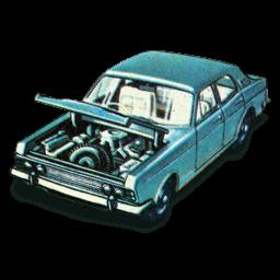 Ford Zodiac Mkiv Sticker