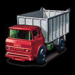 Gmc Tipper Truck Sticker