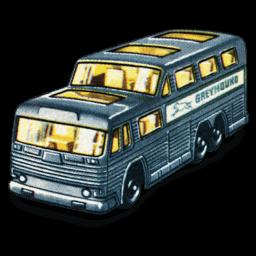 Greyhound Bus Sticker