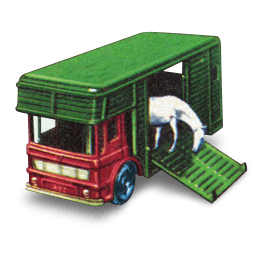 Horse Box Sticker