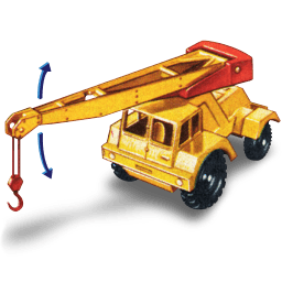 Jumbo Crane With Movement Sticker