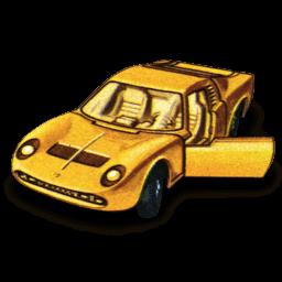 Lamborghini Miura Sticker