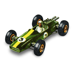 Lotus Racing Car Sticker