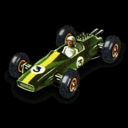 Lotus Racing Car Sticker
