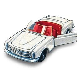 Mercedes 230 Sl Sticker