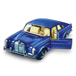 Mercedes 300 Se Sticker