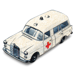 Mercedes Benz Ambulance Sticker