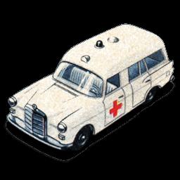 Mercedes Benz Ambulance Sticker