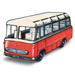 Mercedes Coach Sticker