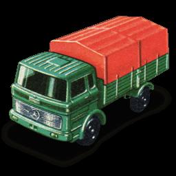 Mercedes Truck Sticker