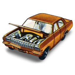 Opel Diplomat Sticker