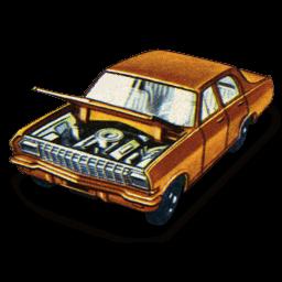 Opel Diplomat Sticker