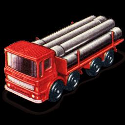 Pipe Truck Sticker