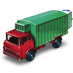 Refrigeration Truck With Open Door Sticker