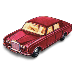 Rolls Royce Silver Shadow Sticker