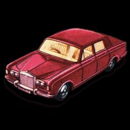 Rolls Royce Silver Shadow Sticker