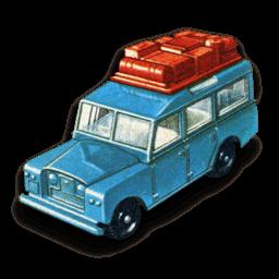 Safari Land Rover Sticker