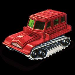 Snow Trac Tractor Sticker