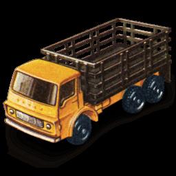 Stake Truck Sticker