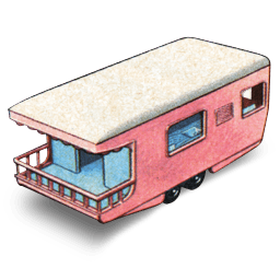 Trailer Caravan Sticker