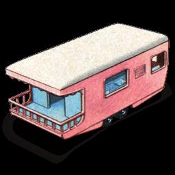 Trailer Caravan Sticker