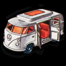 Volkswagen Camper Sticker