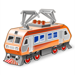 Electric Locomotive Sticker
