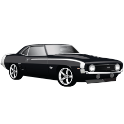 Muscle Car Chevrolet Camaro Ss Sticker