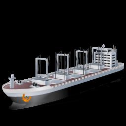 Cargoship Sticker