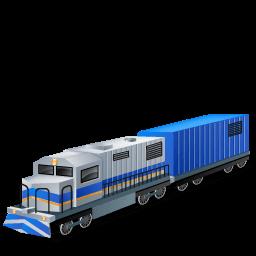 Diesellocomotive Boxcar Sticker