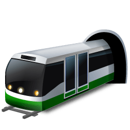 Subwaytrain Sticker