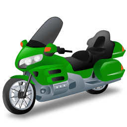 Touringmotorcycle Sticker