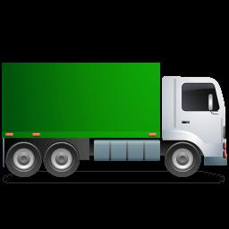Truck Right Green Sticker