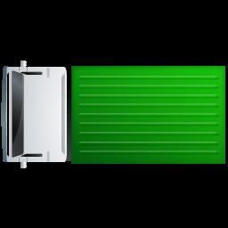 Truck Top Green Sticker