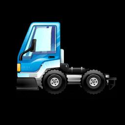 City Truck Blue Sticker